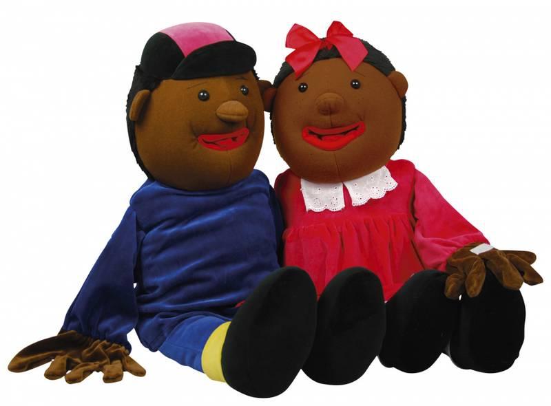 Lille Tina , tale og språk hånddukke 50cm