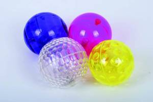 Bilde av Ball blink. lys 10cm