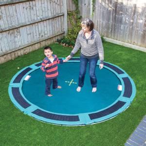 Bilde av Medium bakke trampoline