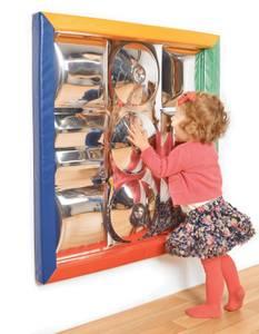 Bilde av Speil med polstret ramme