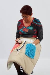 Bilde av Kneteppe med taktile aktiviteter